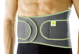 Rückenbandage flexibel Klettverschluss Kompression Halt Sportbandage Rückenstütze Unisex Damen Herren