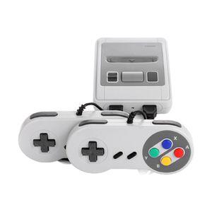 Mini SNES Retro Super Mini-Spielekonsole 8-Bit-Spielekonsole, SFC tragbare Arcade-Videospielkonsole, Integrierte 620 Spiele + 2 Controller