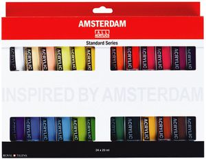 ROYAL TALENS Acrylfarbe AMSTERDAM Introset III 24 x 20 ml