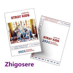Stray kids 2021 Mini Fotoalbum Porträt Portfolio Buch - 14.2*10.5cm