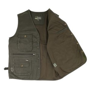 1 Stück Anglerweste , XL Armeegrün