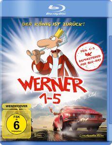 Werner 1-5 - Königbox  [5 BRs] - Blu-ray Boxen