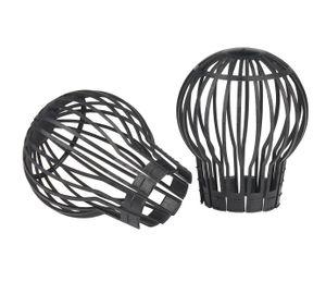 Kinzo rinnenschützer Kunststoff schwarz 2 Stück