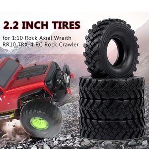 4pcs 2,2 Zoll 127mm Rock Crawler Reifen 1/10 RC Rock Crawler Reifen fuer 1:10 Rock Axial Wraith RR10 TRX-4 RC Rock Crawler Jeep Truck