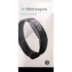 Fitbit Inspire - Aktivitäts-Trackerarmband - Schwarz - Schwarz - Elastomer - Universalgröße - 50 m