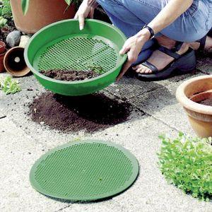 Erdsieb 38 cm Kunststoff Erde Sieb Gartensieb Kompostsieb Graberdesieb