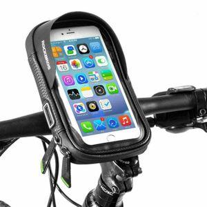 ROCKBROS Rahmentasche Fahrrad Lenkertasche Handyhalterung 6,0 Handy 360 Grad Rotation