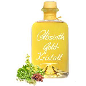 Absinth Gold Kristall 0,5L ohne Farbstoff mit maximal erlaubtem Thujongehalt 35mg/L 55%Vol