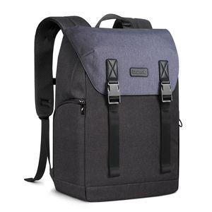 Inateck Uni Rucksack Laptop Rucksack mit Mehreren Fächern und Anti-Diebstahl-Taschen, 17 Zoll spritzwassergeschützter Rucksack zum Pendeln, Reisen, Uni, Business, Blau