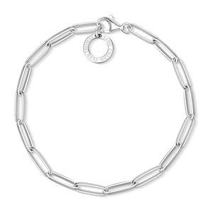 Thomas Sabo X0253-001-21 Charm-Armband Silber 15,5 cm