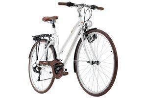 Trekkingrad Damen 28'' Venice Flachlenker weiß RH 53 cm KS Cycling