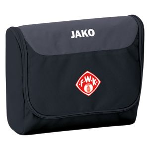 JAKO Würzburger Kickers Kulturbeutel Striker schwarz/grau