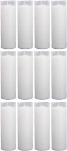 Ersatzkerze Nachfüllerkerze ( N4 ) Nachfüller 12er Pack in Weiß