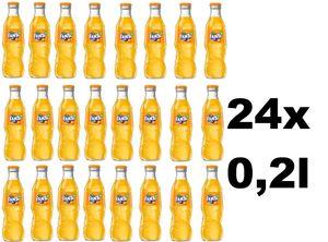 Fanta Orange 24x 0,2Ltr. Glasflasche inkl. Mehrweg
