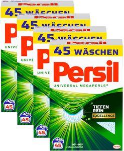Persil Megaperls 4er Pack Vollwaschmittel 4x45 Waschladungen Waschmittel