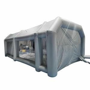 Aufblasbare Zelt  Partyzelt Aufblasbare Lackierkabine Zelt Sprühkabine Oxford PVC 8*4*3m 26x13x10FT