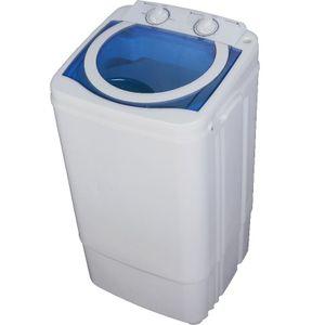 Syntrox Mini Waschmaschine 7Kg mit Schleuder und Timer 350 Watt