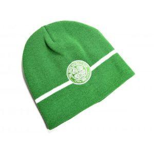 Celtic FC Uni Erwachsene Basic Strick-Beanie-Mütze BS2048 (Einheitsgröße) (Grün)