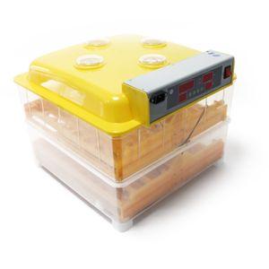Automatische Brutmaschine 112 Eier Inkubator Brutapparat Flächenbrüter Eierbrüte
