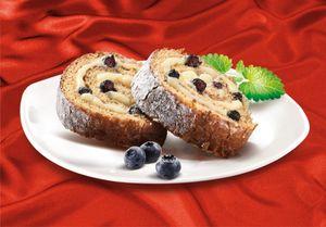 MARLENKA Honig-Biskuitrolle mit Heidelbeeren 300g