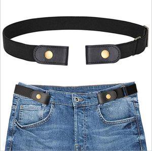 Elastischer Gürtel Damen,Gürtel Ohne Schnalle Unsichtbarer Gürtel für Jeans Hosen Justierbar Stretchgürtel Gürtel für Damen Herren