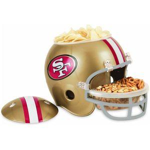 NFL Football Snack Helm der San Francisco 49ers für jede Footballparty