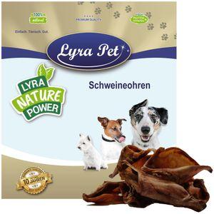 100 Stk. Lyra Pet® Schweineohren, Europa, ca. 4,5 kg