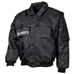 """Blouson, """"Security"""", schwarz - L"""