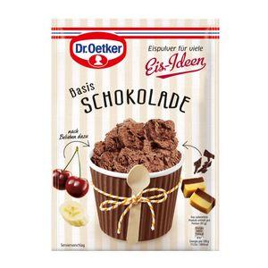 Dr. Oetker Eispulver für viele Eis Ideen Basis Schokolade 116g