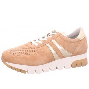 Tamaris 1-23749-24 313 Damen Camel/Lt. Gold Braun Leder Sneaker, Groesse:41 EU