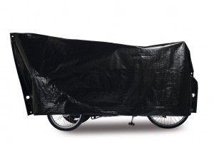 Dreirad Fall Cargo 295 x 120 cm schwarz