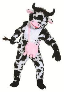 Plüsch Kostüm Big Kuh Maskottchen Kuhkostüm Rind Karneval Fasching
