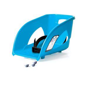abnehmbarer Sitz mit Rücklehne passend zu Prosperplast Schlitten und Bob blau