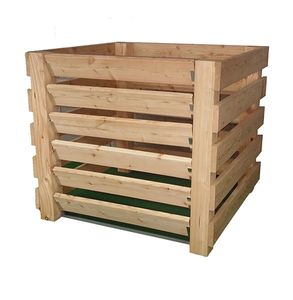 Waegner Robuster Komposter aus widerstandsfähigem Lärchenholz