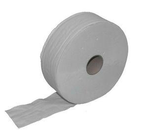 Jumbo-Toilettenpapier-Verpackungseinheit 6 Rollen - 300m-2 lagig - Recycling-weiß