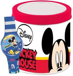 WALT DISNEY KID WATCH Mod. MICKEY MOUSE - Tin Box