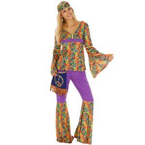 dressforfun Frauenkostüm Hippie - S