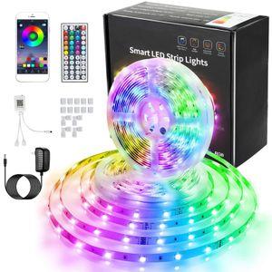 20M 600LEDs LED-Streifen RGB 5050RGB LED Stripe LED-Bandlicht APP Einstellbare Helligkeits Timing LED Band Lichtleiste Band