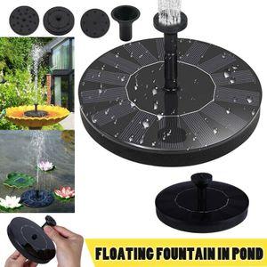 Solar Pumpe Teichpumpe Springbrunnen Vogelbad Brunnen Fontäne Garten Teich Wasserspiel