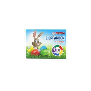 Eierfarben für 40 Eier Ostereierfarben Ostern Kinder malen basteln kreativ Fest