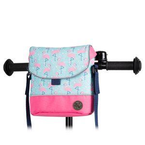 BAMBINIWELT Lenkertasche Tasche für Puky für Woom Laufrad Räder Roller Fahrrad Fahrradtasche für Kinder wasserabweisend mit Schultergurt, Modell 25