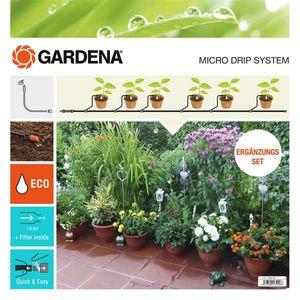 GARDENA Micro-Drip-System Erweiterungsset Pflanztöpfe 13005-20