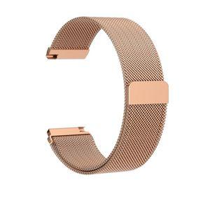 Armband für Fitbit Versa Milanaise - Roségold - S