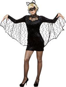 Fledermaus Kleid mit Haarreif, Größe:42/44