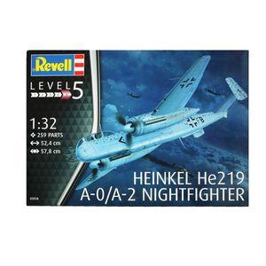 Revell Modellbausatz Heinkel He219 A-0/A-2 Nightfighter 1:32