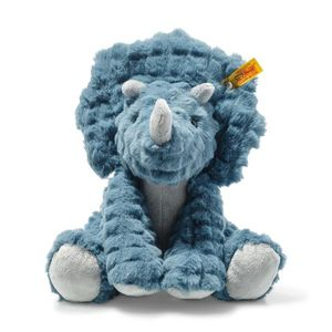 Steiff 087806 Soft Cuddly Friends Dixi Triceratops | 28 cm