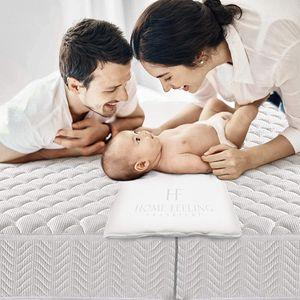 HF Home Feeling Premium Liebesbrücke 200 cm - Perfekt für Familien & Paare - Matratzenkeil - Ritzenfüller für Matratzen