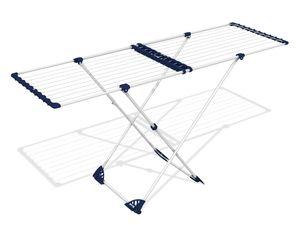 Gimi Teleskop Wäscheständer ausziehbar Wäschetrockenständer Wäschetrockner 20 m