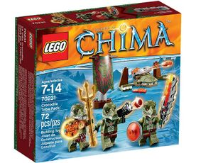 Lego 70231 Legends of Chima - Krokodilstamm-Set