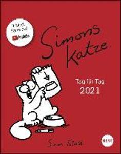 Simons Katze Tagesabreißkalender - Kalender 2021